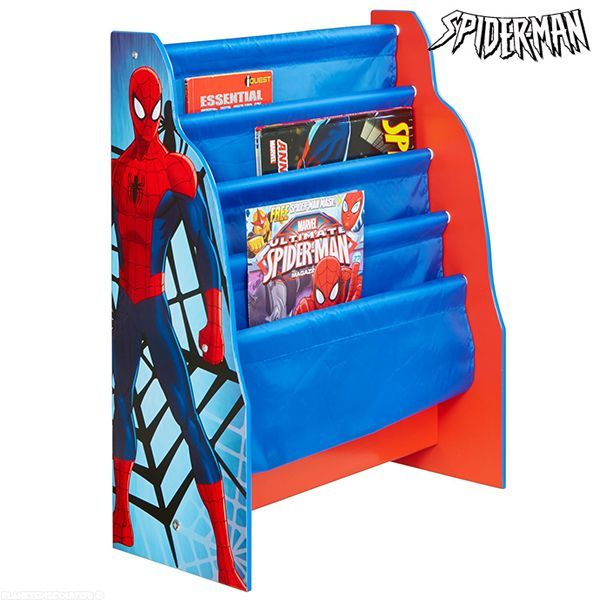 Chambre spider man biblioth que spider man chambre for Decoration chambre spiderman