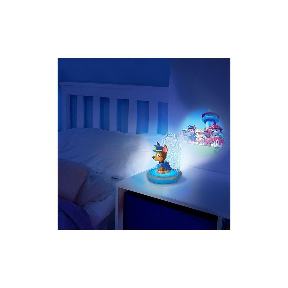 veilleuse pat 39 patrouille 3 en 1 go glow avec projecteur pas cher. Black Bedroom Furniture Sets. Home Design Ideas