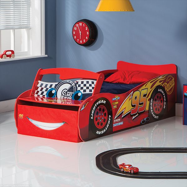 Cars Flash Pas LumineuxEnfant Disney Cher Voiture Lit Mcqueen 3S4ARLjcq5