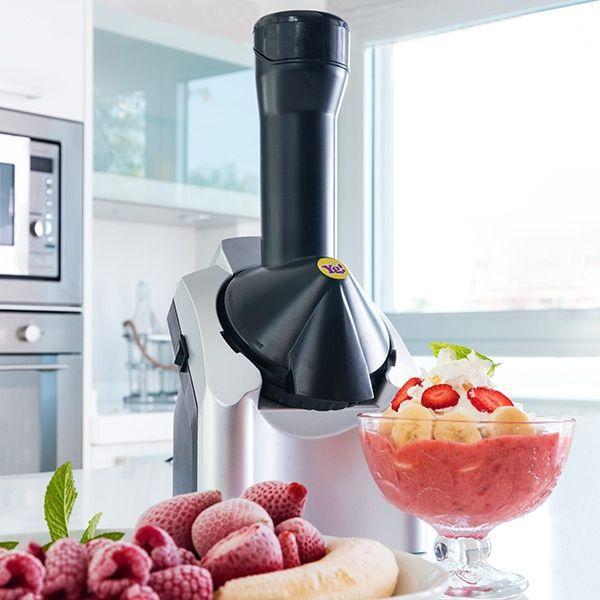 Machine à glaces aux fruits