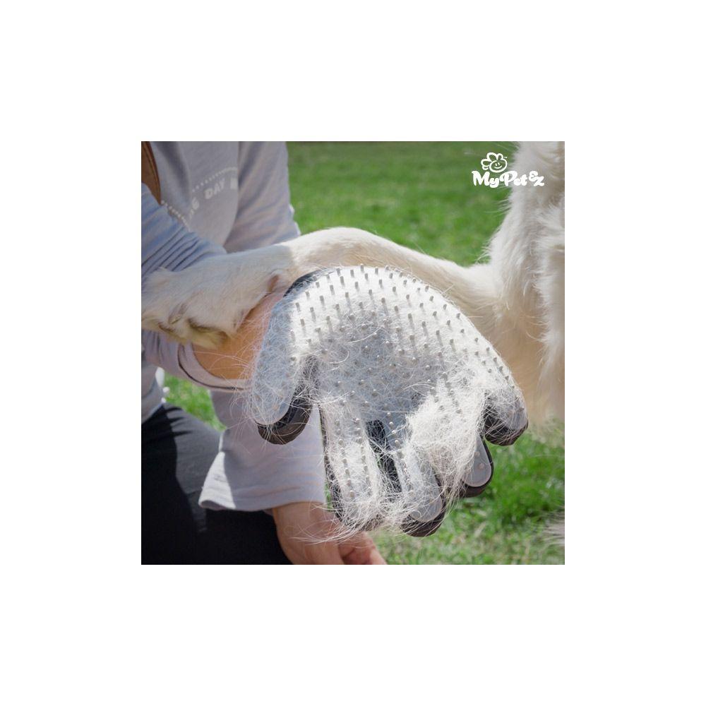 toilettage achat gant de brossage massant pour animaux pas cher. Black Bedroom Furniture Sets. Home Design Ideas