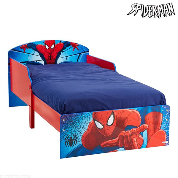Lit enfant SpiderMan en bois Cosy Marvel
