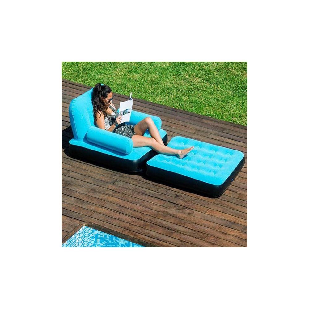 Fauteuil gonflable achat fauteuil multifonction for Fauteuil bain de soleil pas cher