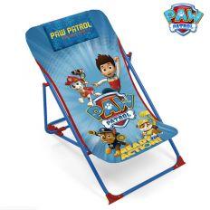 Chilienne chaise longue Pat'Patrouille