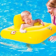 Bouée siège pour bébé gonflable