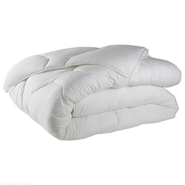 Couette coton 140x200 cm 600 gr/m² blanc