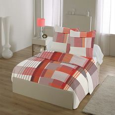 Parure drap house 100% coton 240x300 cm 4pcs Cadri
