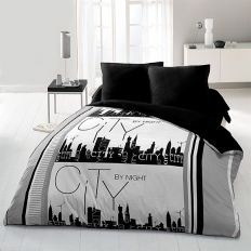 Parure de drap microfibre 240x300 cm 4pcs CiTy By Night