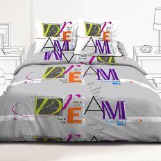 Parure de couette 220x240 cm 100% coton You & Me Dream