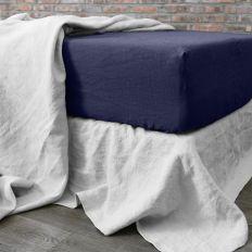 achat drap housse 160x200 cm lin eclypse pas cher. Black Bedroom Furniture Sets. Home Design Ideas