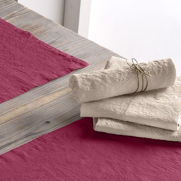 Lot de 2 serviette 45x45 Lin métis - Beige