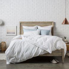 Housse de couette 260x240 cm Percale Blanc