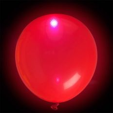Ballons LED lumineux Rouge x10