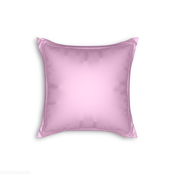 achat taie d 39 oreiller avec volant 65x65 cm rose pas cher. Black Bedroom Furniture Sets. Home Design Ideas