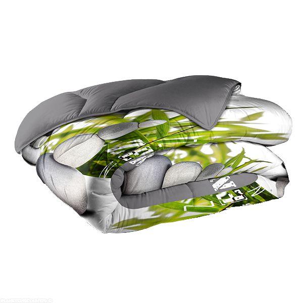 Couette 220x240 cm 400 gr/m² Zen Bambou