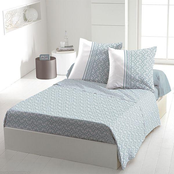 achat parure de drap 5 pi ces coton 240x300 cm anna ciel pas cher. Black Bedroom Furniture Sets. Home Design Ideas