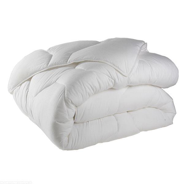 Couette anti-acariens 220x240 cm 500 gr/m² Blanc
