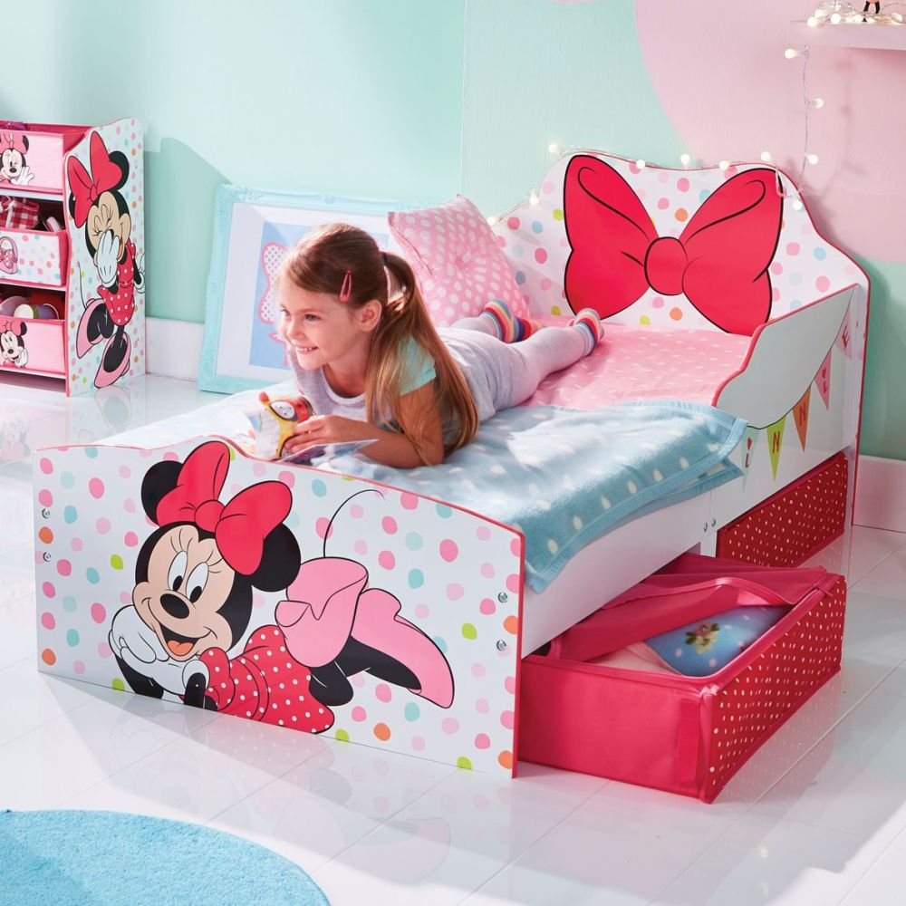 lit enfant achat lit enfant disney minnie mouse pas cher. Black Bedroom Furniture Sets. Home Design Ideas