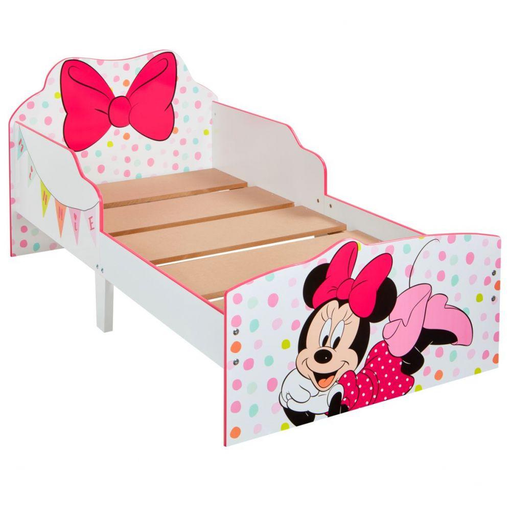 lit enfant achat lit enfant disney minnie mouse pas cher. Black Bedroom Furniture Sets. Home Design Ideas