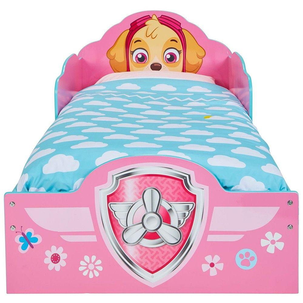 lit enfant achat lit pat patrouille stella avec rangements pas cher. Black Bedroom Furniture Sets. Home Design Ideas