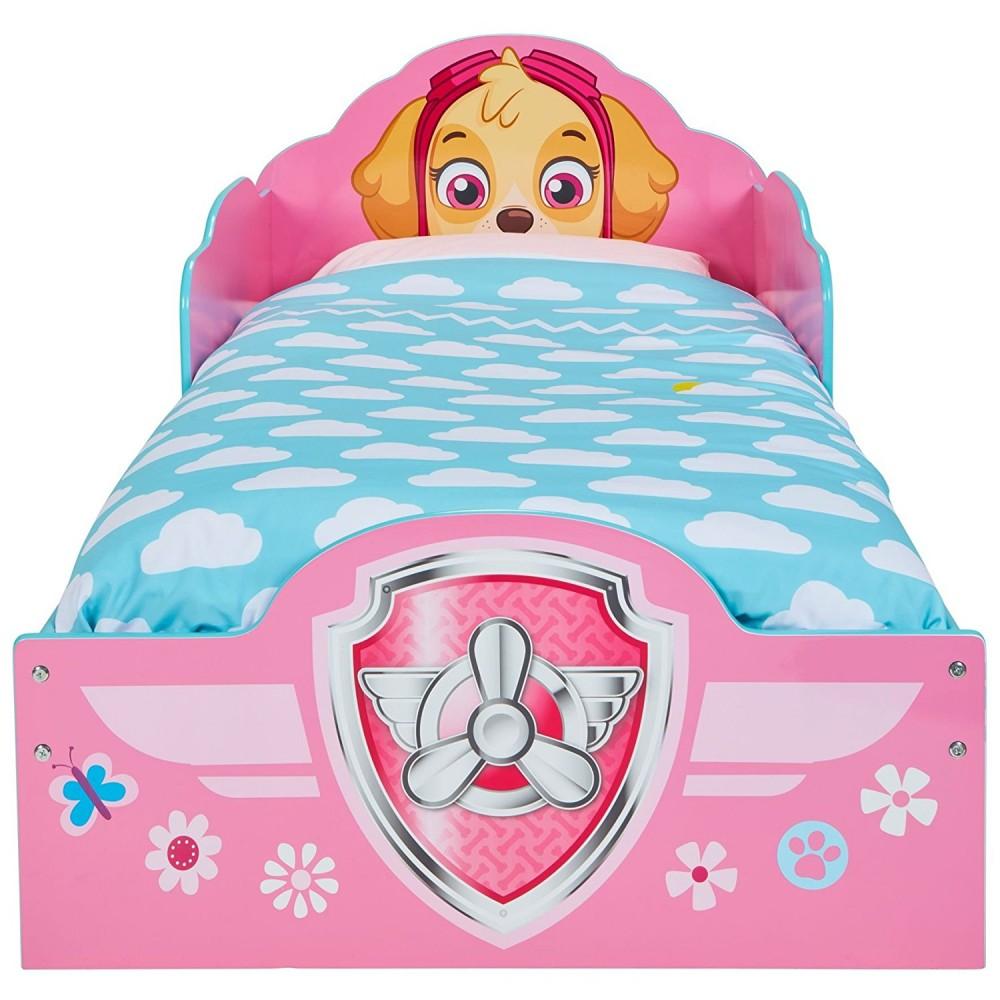 Paw Patrol Skye bébé lit avec de rangement dessous de lit enfants filles