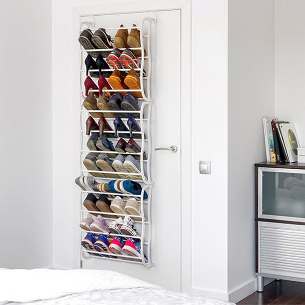 achat range chaussures de porte pour 36 paires pas cher. Black Bedroom Furniture Sets. Home Design Ideas