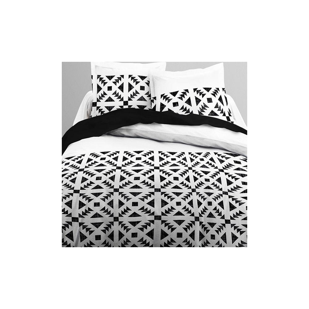 achat parure de couette 100 coton today 220x240 3pcs astek pas cher. Black Bedroom Furniture Sets. Home Design Ideas