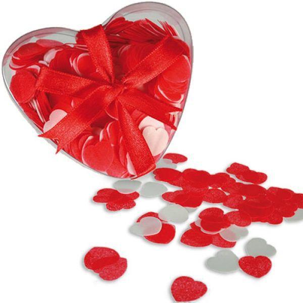 Confettis de bain modèle coeur