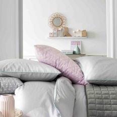 Parure de lit coton 220x240 cm Today Elina Zinc / Portofino