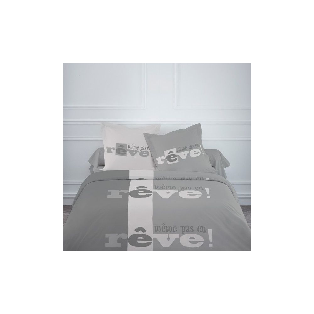 achat parure de lit coton 220x240 cm today m me pas en r ve pas cher. Black Bedroom Furniture Sets. Home Design Ideas