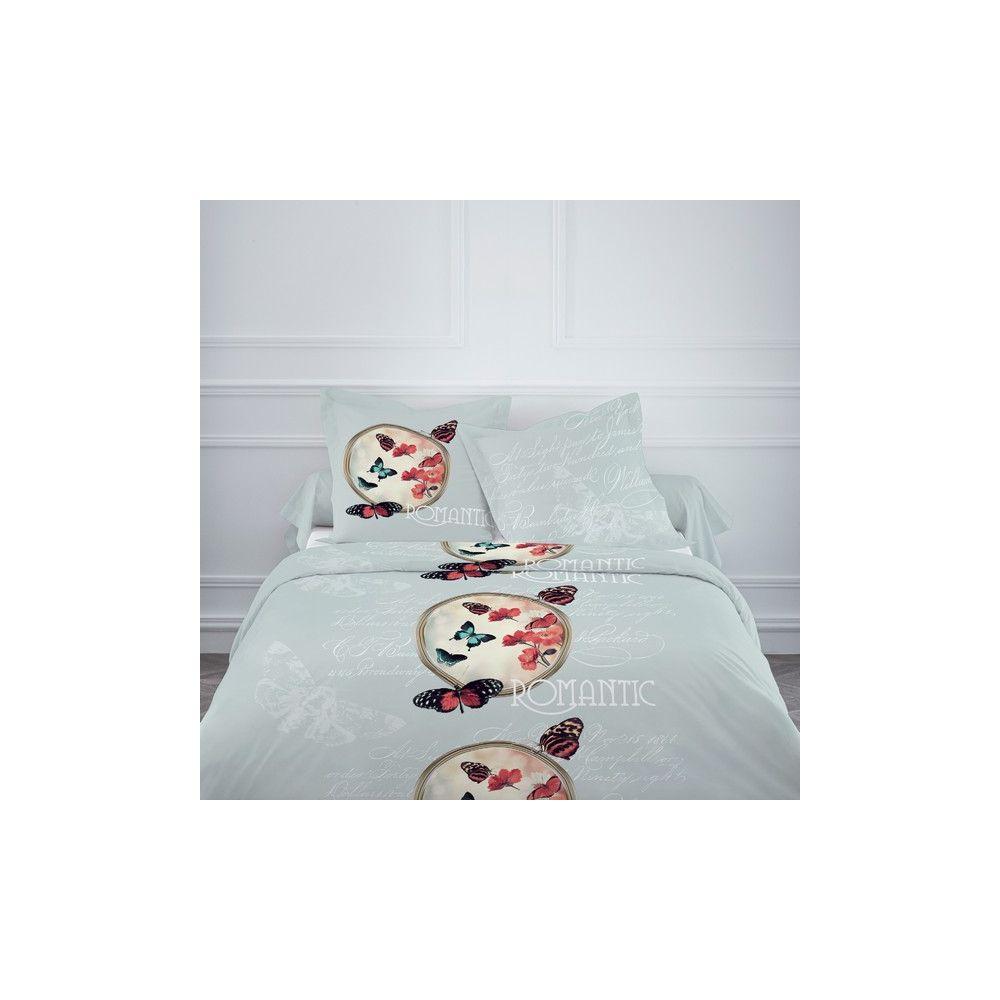 achat parure de lit coton 220x240 cm today crepuscule pas cher. Black Bedroom Furniture Sets. Home Design Ideas