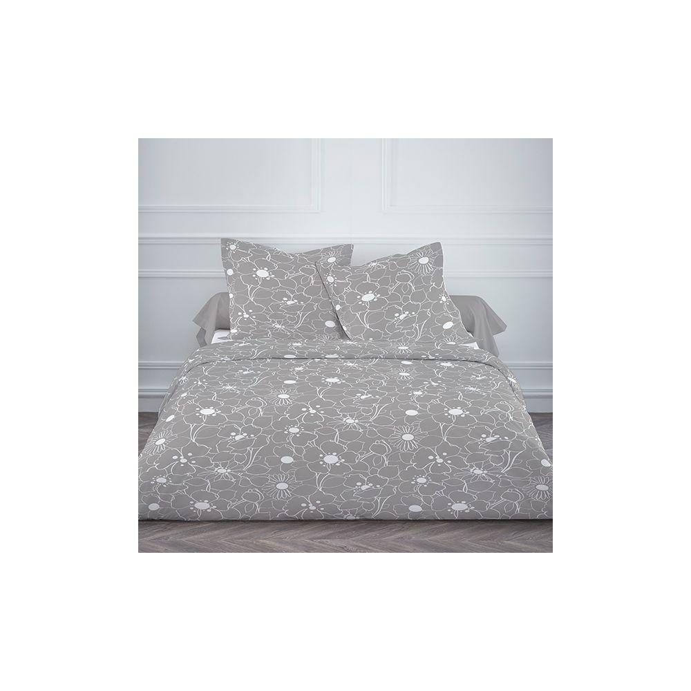 achat parure de lit microfibre 220x240 cm today only maga. Black Bedroom Furniture Sets. Home Design Ideas