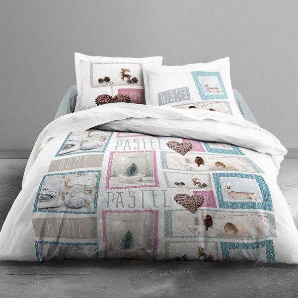 Parure de lit coton 220x240 cm Today Home Pastel