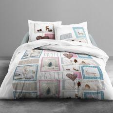 Parure de lit coton 240x260 cm Today Home Pastel