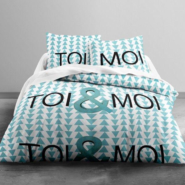 Parure de lit coton 240x260 cm Today Toi & Moi