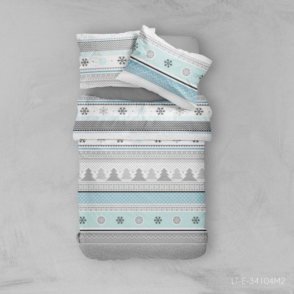 achat parure de lit coton 240x260 cm today snowden pas cher. Black Bedroom Furniture Sets. Home Design Ideas