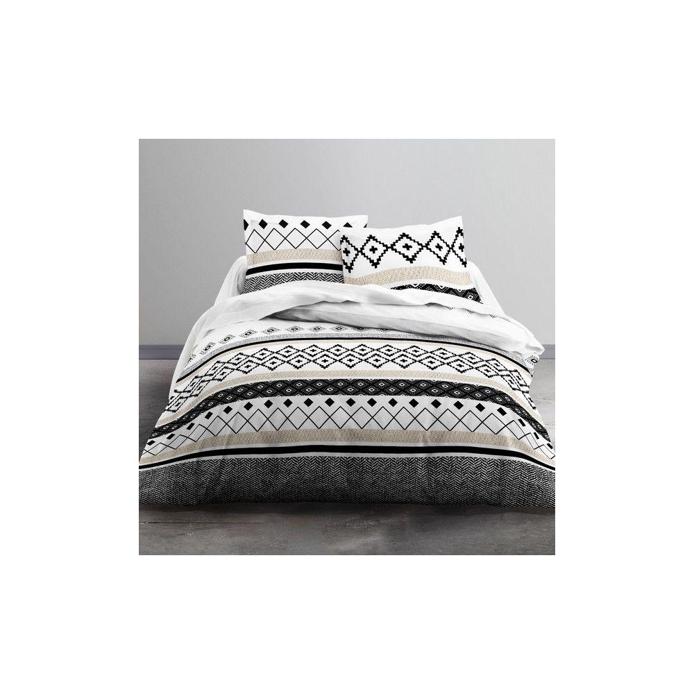 achat parure de lit coton 220x240 cm today sirius pas cher. Black Bedroom Furniture Sets. Home Design Ideas