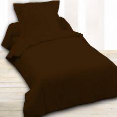 Housse de couette Today coton 140x200 Cacao