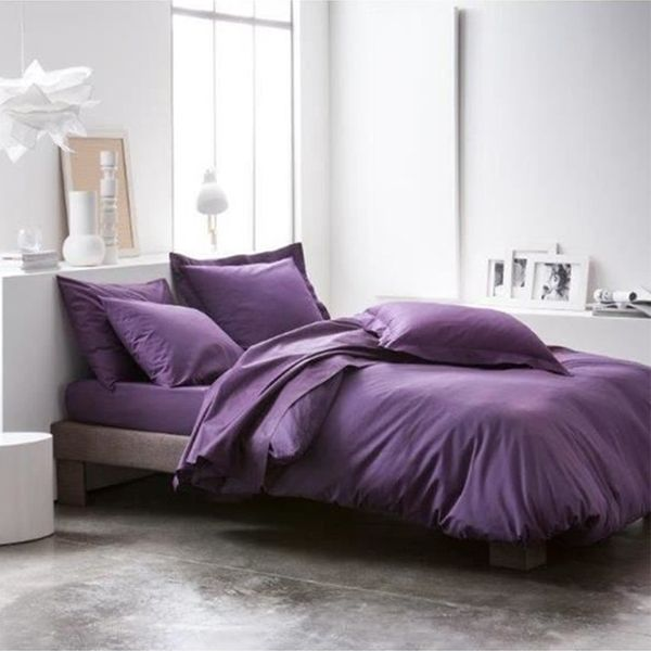 Housse de couette Today coton 240x260 Deep Purple