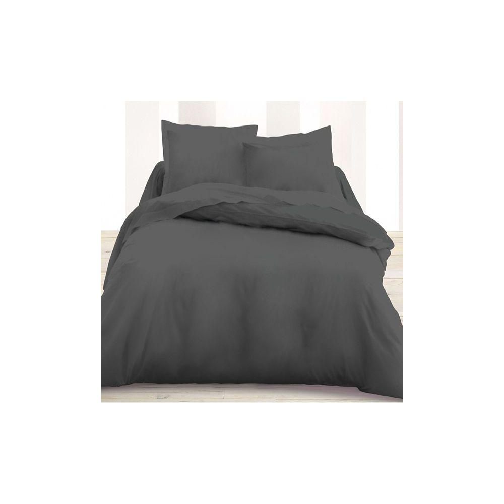 today achat housse de couette coton 240x260 canon de fusil pas cher. Black Bedroom Furniture Sets. Home Design Ideas