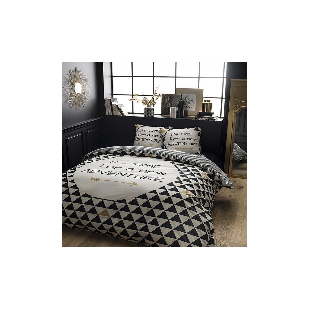 today achat parure de lit coton 220x240 adventure pas cher. Black Bedroom Furniture Sets. Home Design Ideas
