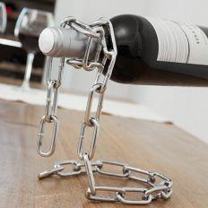 Porte-bouteilles chaîne