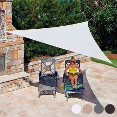 Voile d'ombrage triangulaire 3.6 mètres