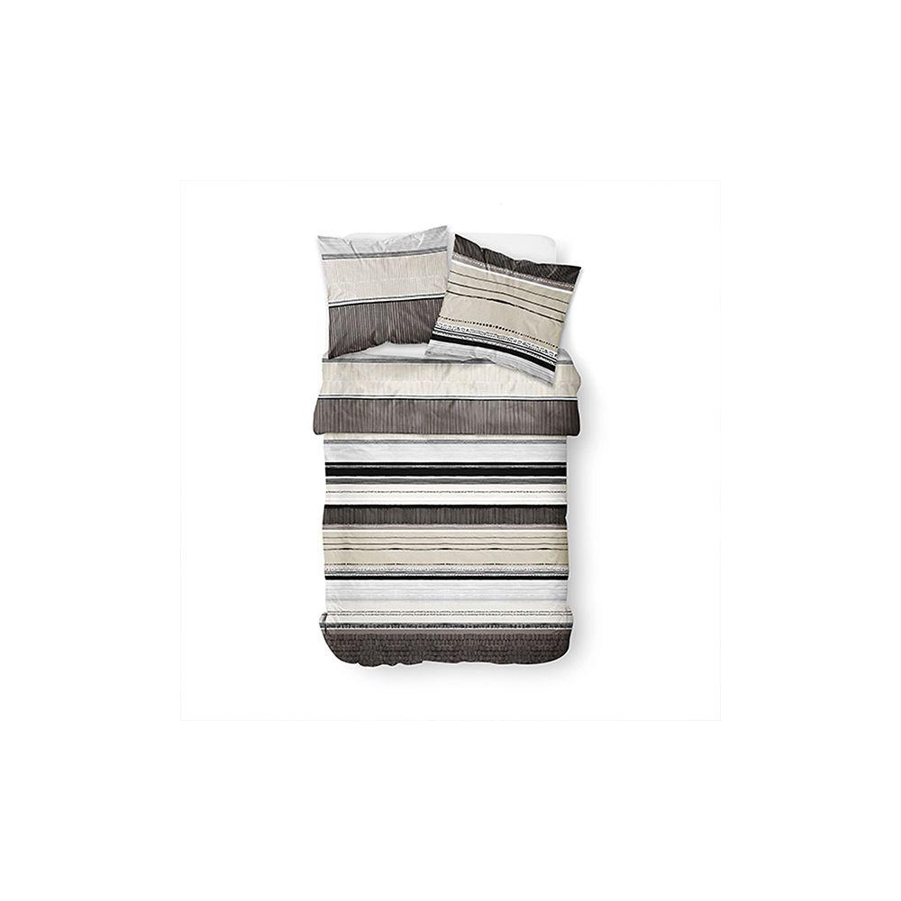 Parure de couette 100% coton 51 fils Deserte Today : Taille - 220 x 240 cm