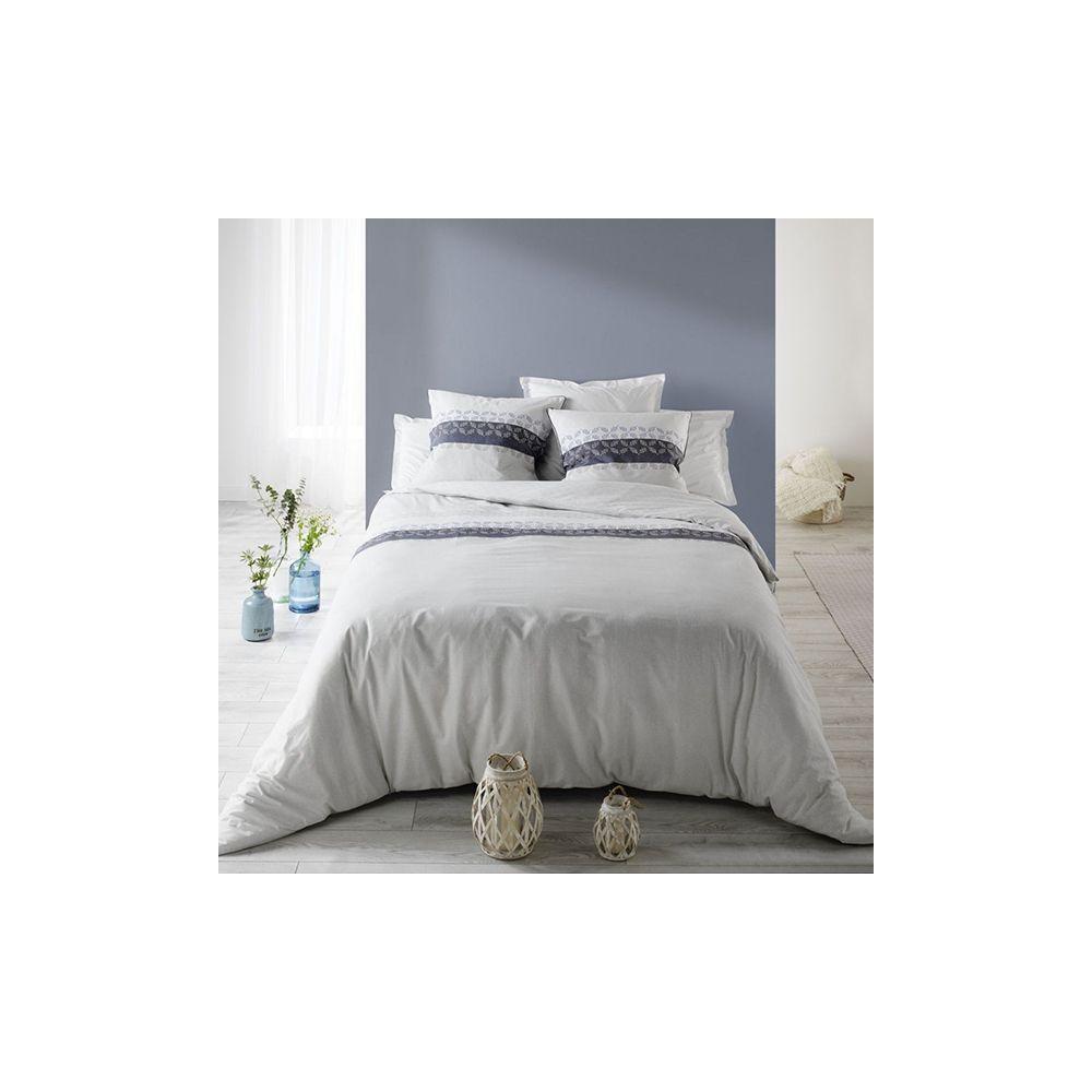 achat parure housse de couette 100 coton sofia pas cher. Black Bedroom Furniture Sets. Home Design Ideas