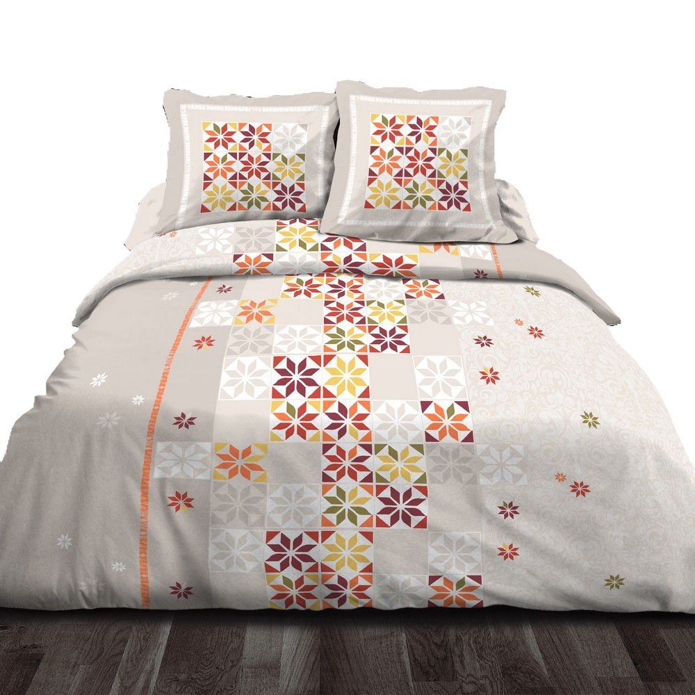 housse de couette achat parure de lit coton penelope pas. Black Bedroom Furniture Sets. Home Design Ideas