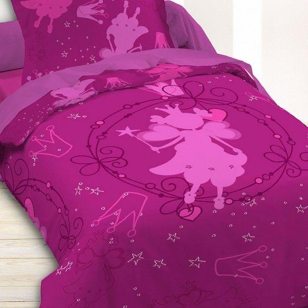 Parure de lit coton 140x200 cm Today Happy Princess