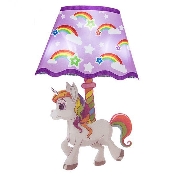 Sticker veilleuse licorne à LED