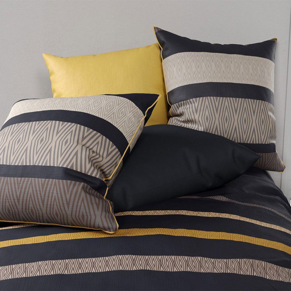 housse de couette parure de lit r versible percale sonia pas cher. Black Bedroom Furniture Sets. Home Design Ideas