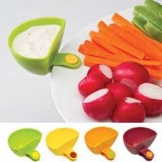 Dip Clips Set de 4 récipients pour sauces clipsable